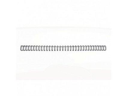 Drôtové hrebene GBC 9,5mm čierne 3:1