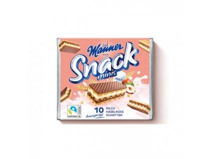 Oblátky Manner Snack Minis  lieskovoorieškové 75g