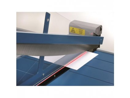 Laserový lúč, indikujúci rez
