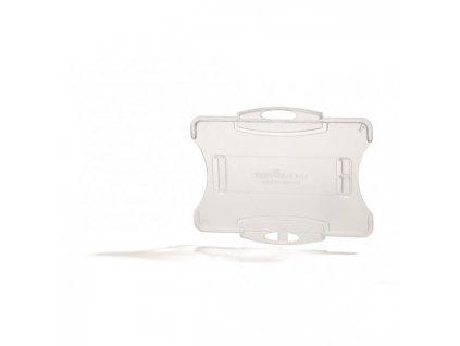 Visačka na plastovú kartu otvorená bez úchytu DURABLE 85x54mm 10ks