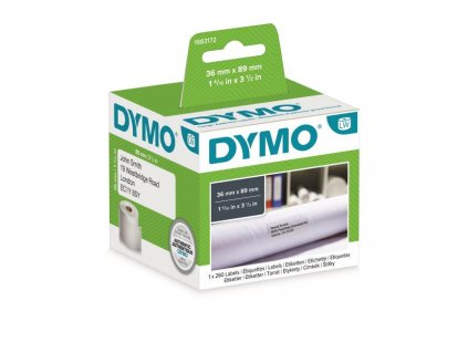 Samolepiace etikety Dymo LW 89x36mm adresné veľké biele 260ks