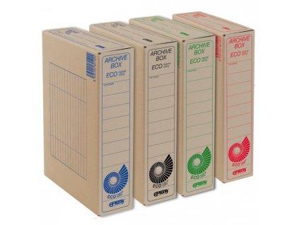 Archívny box EMBA TYP I/75/ECO červený