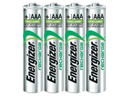Batéria Energizer dobíjateľná AAA-HR03/4ks 800 mAh mikrotužková