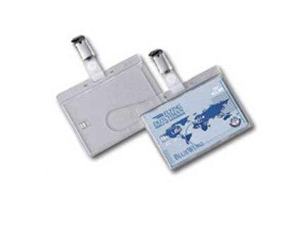 Visačka na plastovú kartu so štipcom Fellowes IDS 68 87x56mm 50ks