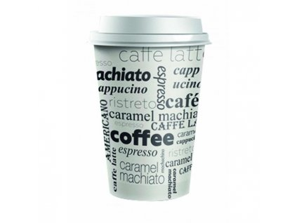 Plastové viečko biele 62 mm `Coffee to go` 100ks
