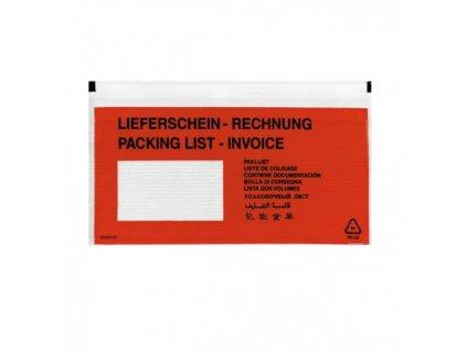 Vrecká na sprievodky Herlitz DL 110x220mm 100ks