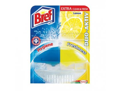 Bref Duo Aktiv WC záves.gél 50ml Citrón