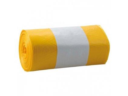 Vrecia 120l 26mic. 700x1100mm 25ks žlté