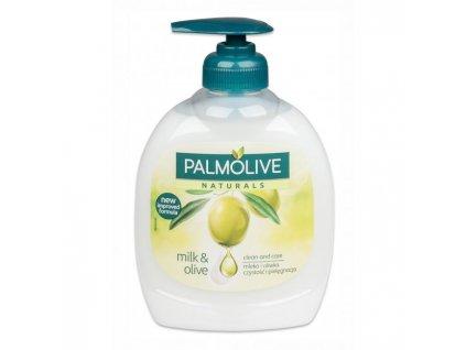 Palmolive tekuté mydlo s pumpičkou 300ml - Olive Milk