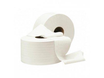Toaletný papier 2-vrstvový Jumbo biely 26cm, návin 210m