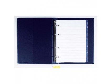 Karisblok Xepter A5 s registrom modrý