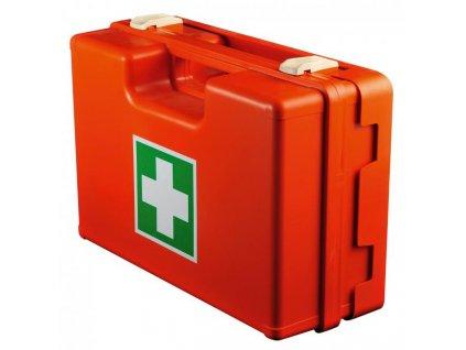Plastový kufrík prvej pomoci bez náplne veľký