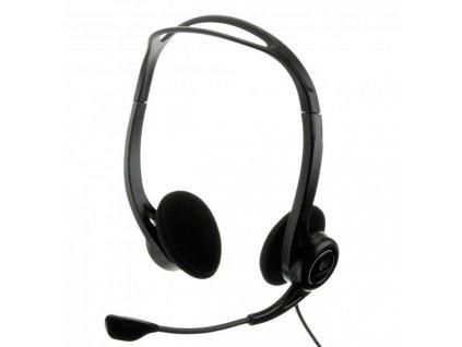 Slúchadlá Logitech PC 960 Headset, USB