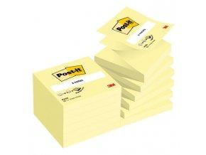 Z-bloček Post-it 76x76 žltý 100 lístkov