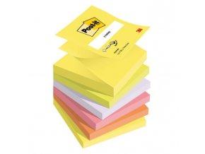 Z-bloček Post-it 76x76 neónové farby 100 lístkov