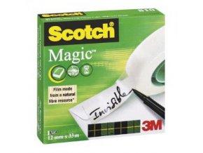 Lepiaca páska Scotch Magic neviditeľná popisovateľná 12mmx33m v krabičke