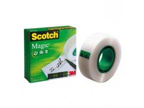 Lepiaca páska Scotch Magic neviditeľná popisovateľná 19mmx33m v krabičke