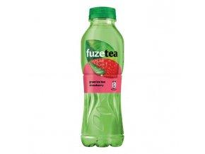 Zelený ľadový čaj FUZETEA Aloe vera a jahoda 0,5l