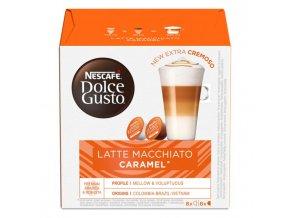 Kapsule DOLCE GUSTO Latte Macchiato Caramel 168,8g