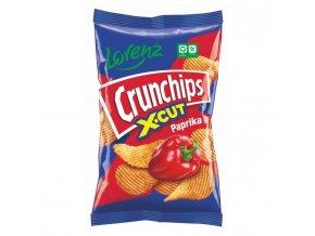 Crunchips X-cut paprika 85g