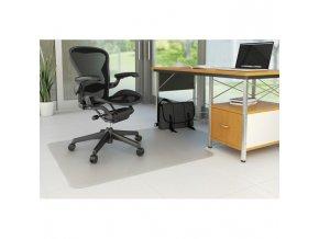 Podložka pod stoličku na tvrdé podlahy v tvare T 134,6x114,3cm