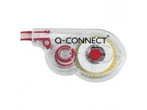 Korekčný roller Q-CONNECT jednorazový s bočnou korekciou 5mmx8m