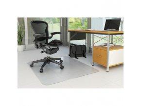 Podložka pod stoličku na tvrdé podlahy 152,4x116,8cm