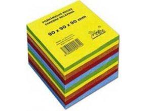 Viacfarebná kocka lepená 90x90x90 mm