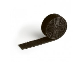 Suchý zips na káble CAVOLINE GRIP 20 čierna