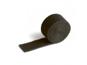 Suchý zips na káble CAVOLINE GRIP 30 čierna