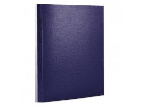 Kartónový box so suchým zipom 40mm Office products tmavo modrý