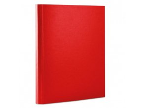 Kartónový box so suchým zipom 40mm Office products červený