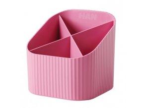 Stojan na perá HAN X-LOOP ružový