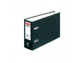 Zakladač pákový Herlitz maX.file A5 7,5cm na šírku čierny