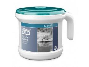 Zásobník na papierové uteráky TORK Reflex so stred. odvíjaním prenosný