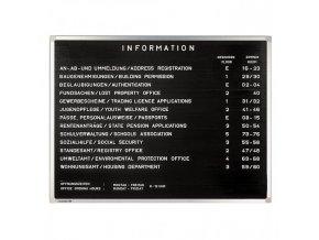 Informačná tabuľa PREMIUM 40x30 cm
