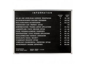 Informačná tabuľa PREMIUM 60x80 cm