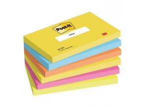 "Bločky Post-it ""ENERGIA"" 76x127mm, 6x100 lístkov"