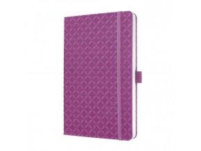 Zápisník JOLIE ružovofialový A6