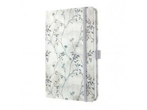 Zápisník JOLIE Blue Romance A5