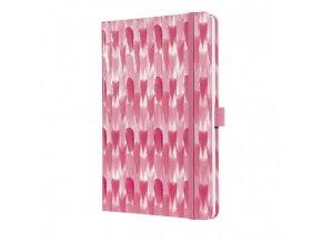 Zápisník JOLIE Pink Blend A5