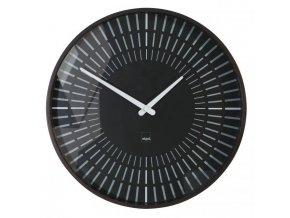 Nástenné hodiny artetempus Lox 35x35cm čierne