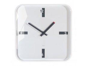 Nástenné hodiny artetempus Mezo 35x35cm biele