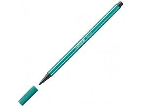 Popisovač STABILO Pen 68 tyrkysovo modrý