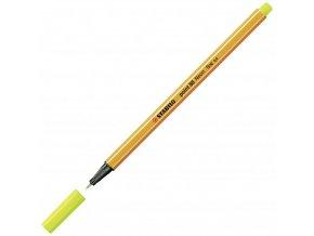 Liner STABILO Point 88 neon žltá