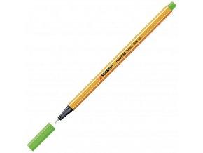 Liner STABILO Point 88 neon zelený