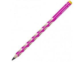 Ceruzka STABILO ergonomická EASYgraph pre ľavákov ružová 6ks