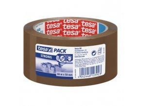Baliaca páska TESA strong 50mmx66m hnedá
