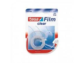 Lepiaca páska TESA clear 19mmx10m s dispenzorom