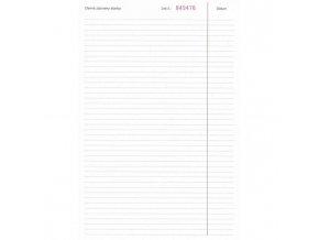 Stavebný denník A4 50x3+8 listov samoprepis